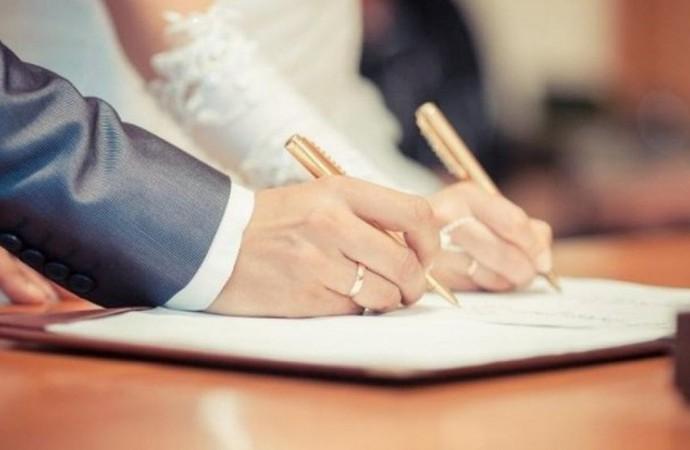 Скільки шлюбів на Волині зареєстрували у поточному році