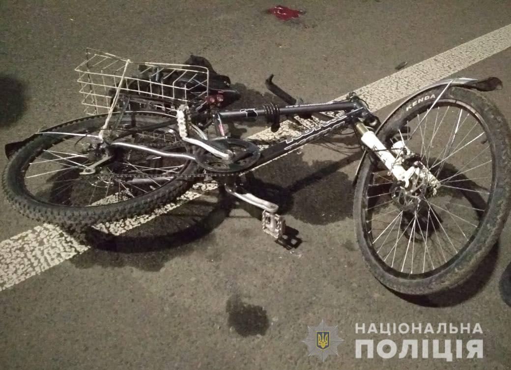 У Луцькому районі в ДТП постраждав велосипедист