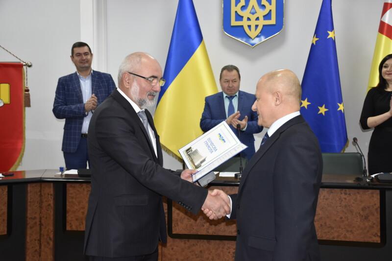 У Луцькраді нагородили заступника міського голови та очільника ЖКП