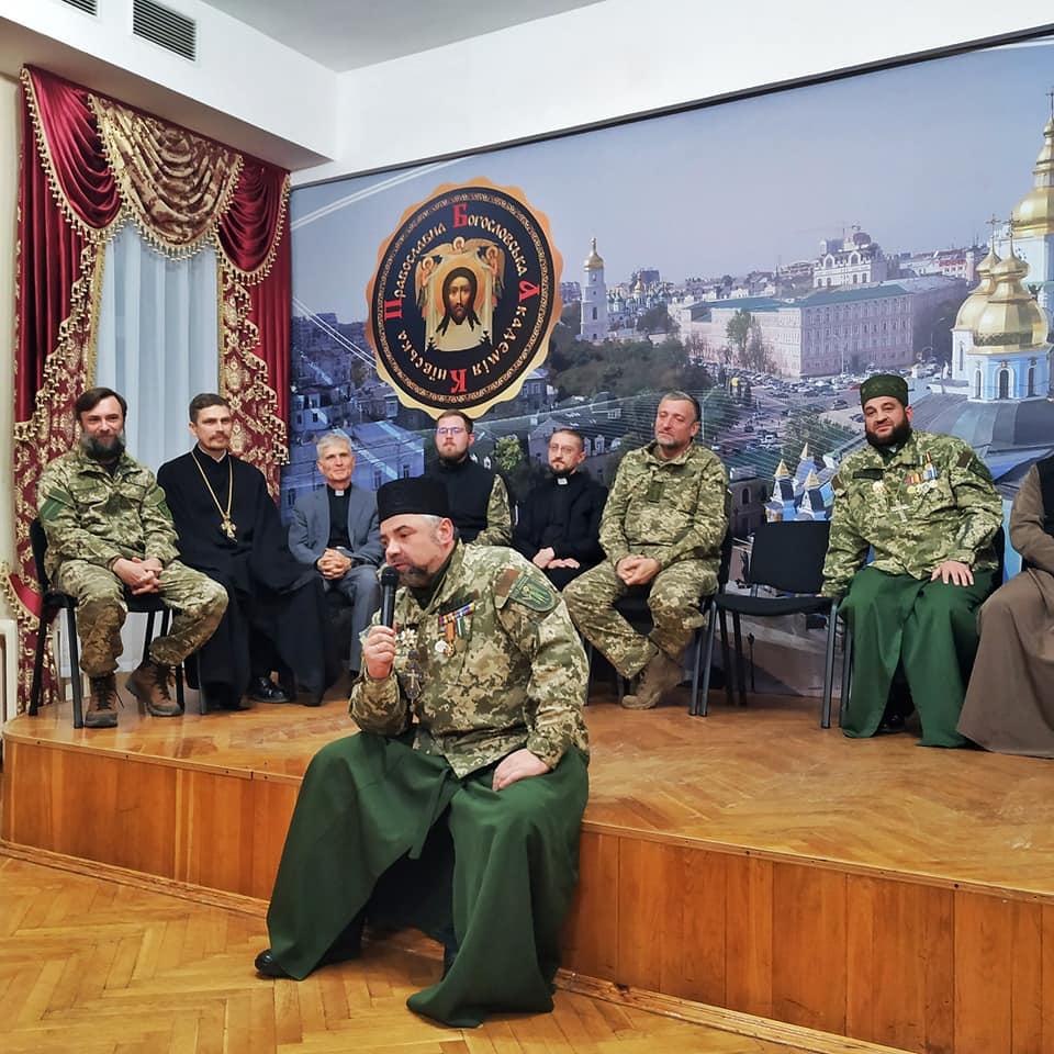 Волинські капелани у Києві розповіли про свій досвід служіння