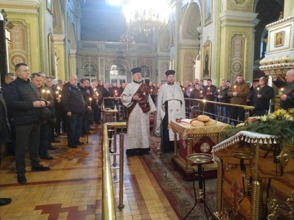 У луцькому соборі вшанували пам'ять загиблих афганців