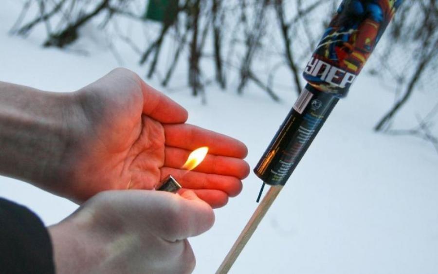 Волинянам нагадують, що використання піротехнічних виробів може призвести до травмування