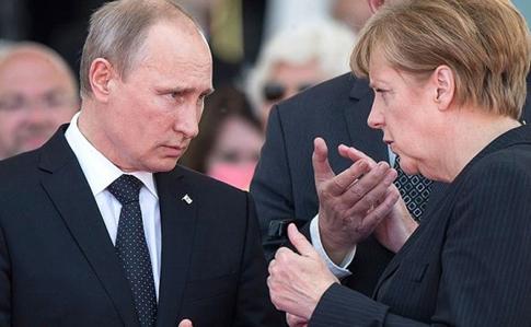 Німці назвали Меркель і Путіна серед лідерів, які найкраще вирішують глобальні проблеми