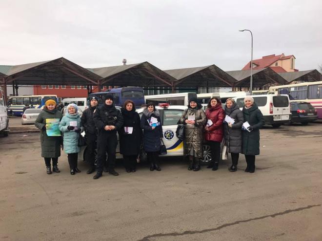 У Луцьку пройшла акція «Збережи життя – зупини насильство»