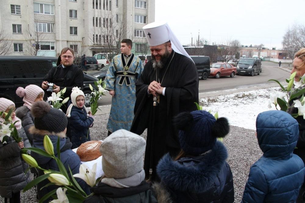 У луцькій дитячій церкві вперше відправили престольне свято
