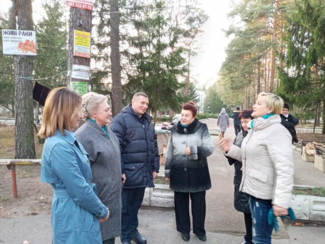 Голова Волинської ОДА ознайомився з проблемами санаторію «Лісова пісня»