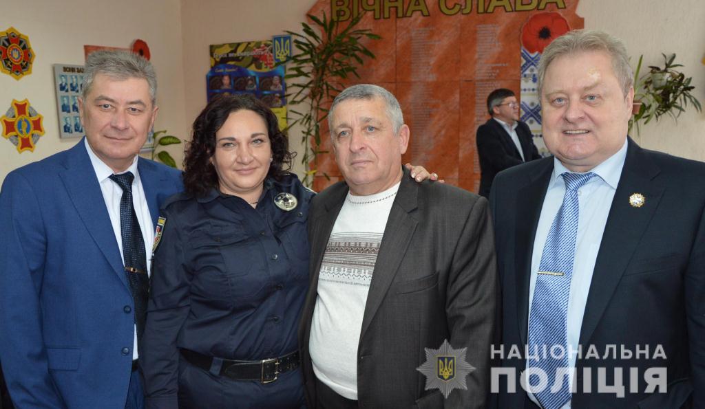 У поліції Волині вшанували пенсіонерів та ветеранів відомства