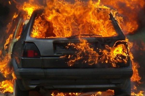 У Луцьку на підприємстві згоріли чотири маршрутки