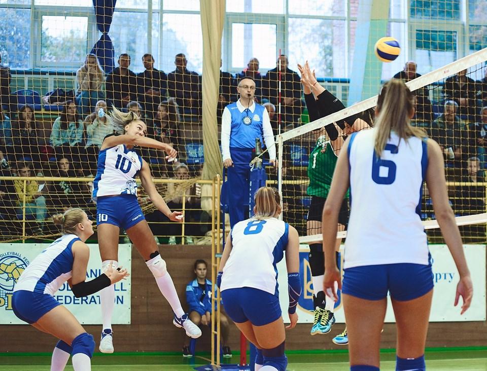 Волинь посіла шосте місце у жіночій волейбольній суперлізі