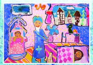 «Місто святого Миколая»: у Луцьку відкриють виставку дитячих малюнків