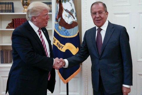 Трамп на зустрічі з Лавровим закликав Росію закінчити війну в Україні