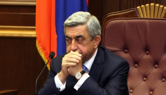 Експрезидента Вірменії Сержа Саргсяна звинувачують у корупції