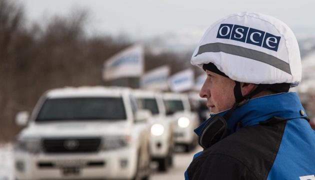 ОБСЄ констатувала зменшення вибухів на Донбасі