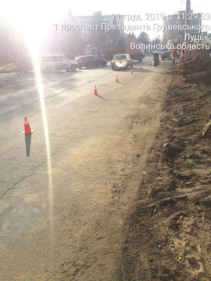 Більше півтори тисячі гривень штрафу загрожує лучанину, що забруднив дорогу