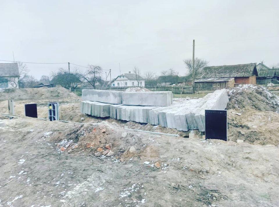 У селі на Волині будують нову школу