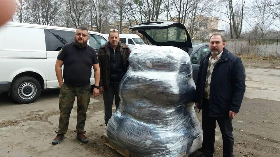 Волиняни відправили гуманітарну допомогу українським бійцям