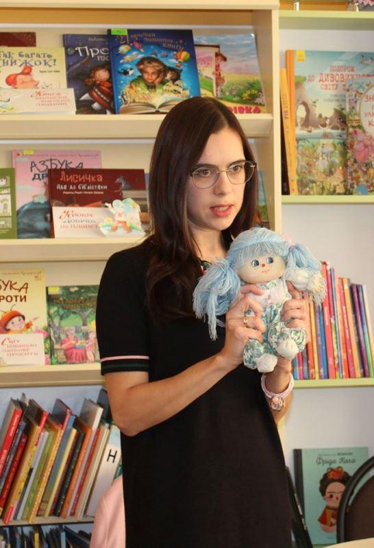 На Волині відбулася презентація книги молодої письменниці