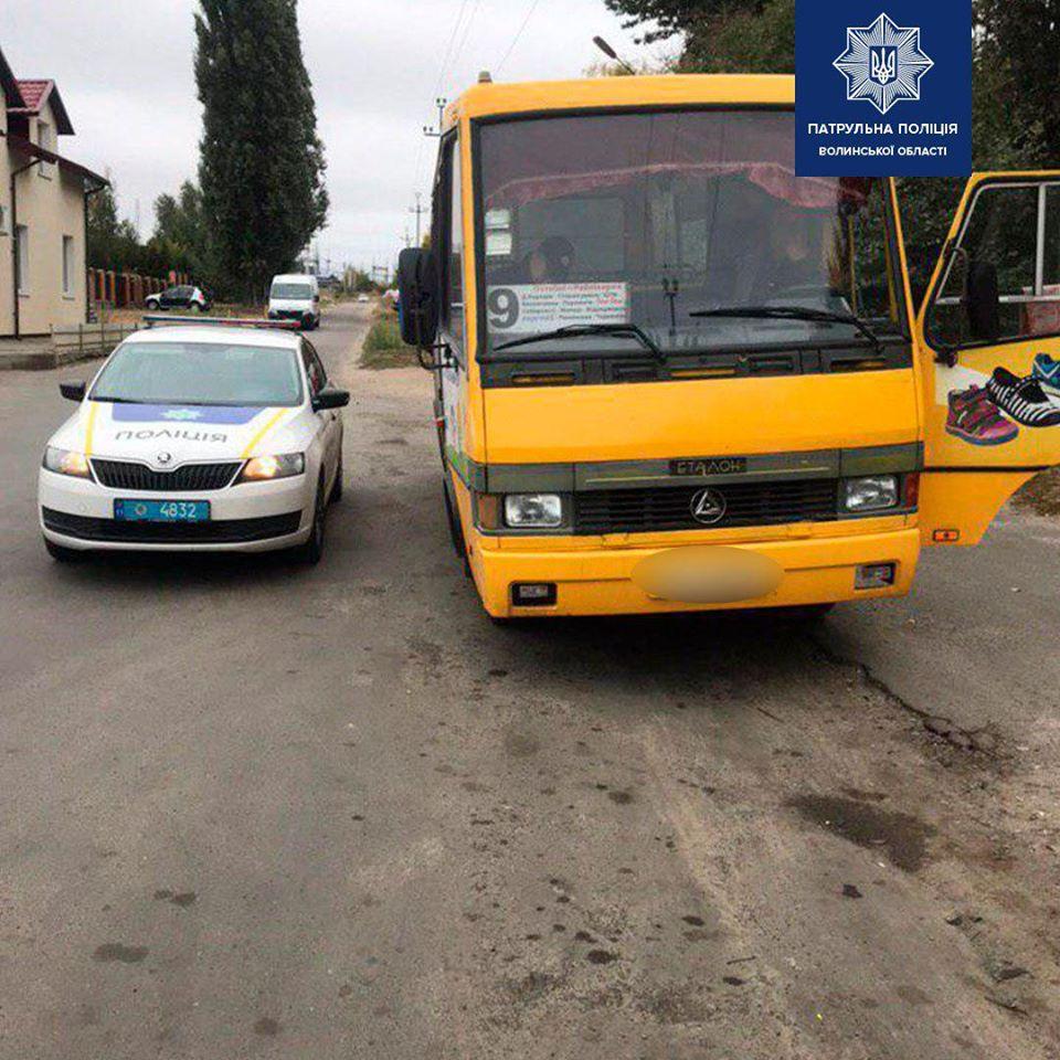 Кількість аварій за участю громадського транспорту на Волині знизилася
