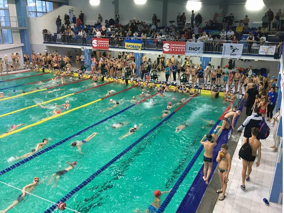 Волинські спортсмени вибороли призові місця у турнірі з плавання