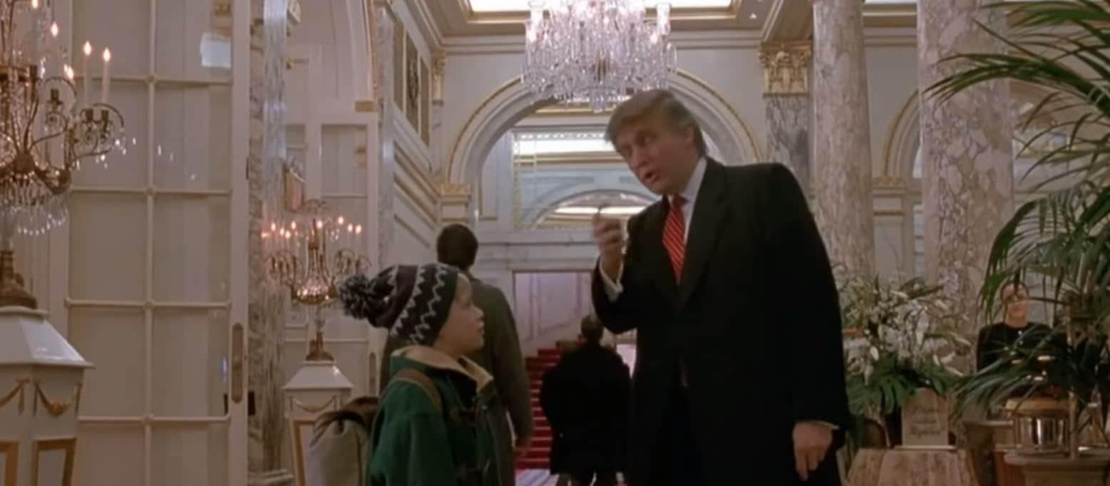 У Канаді Трампа вирізали із «Сам удома-2»