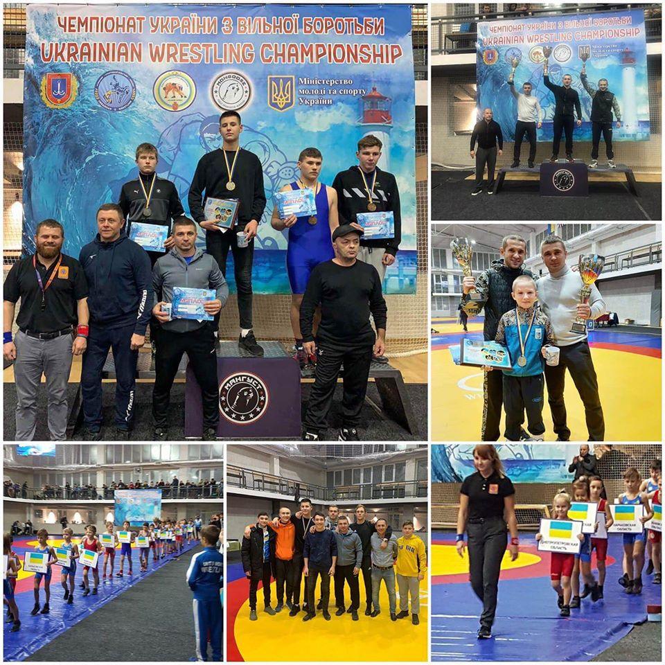 Волиняни стали призерами чемпіонату України з вільної боротьби