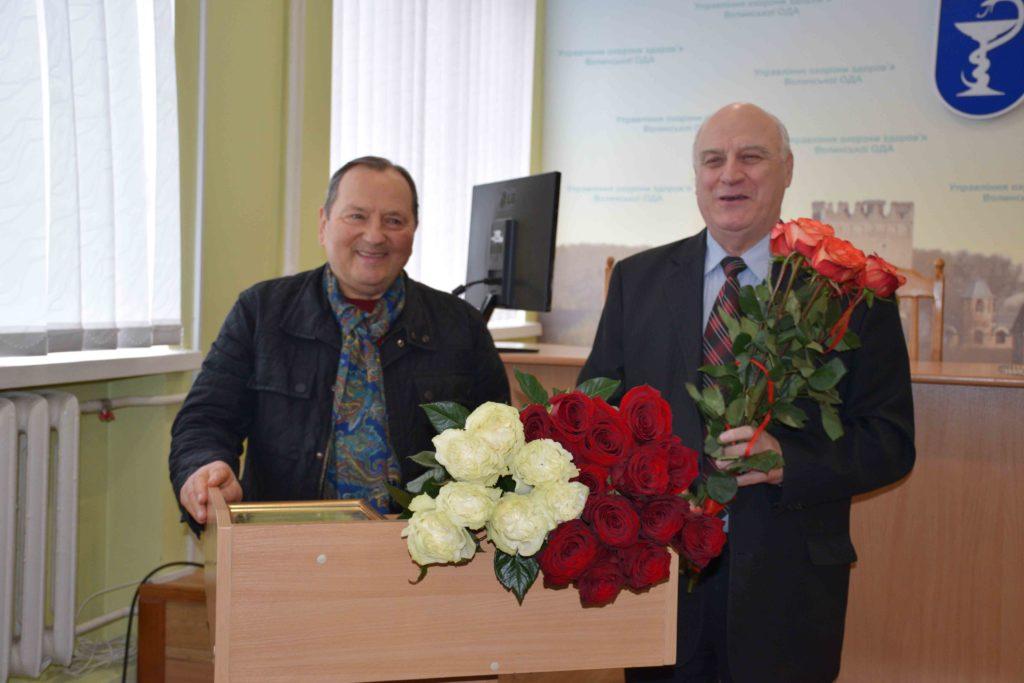 Івана Сидора провели з посади головного лікаря Волинської обласної лікарні