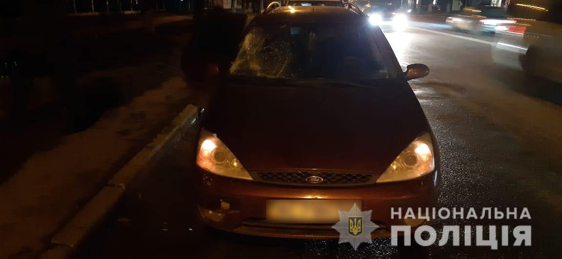 У Луцьку водій збив нетверезого пішохода