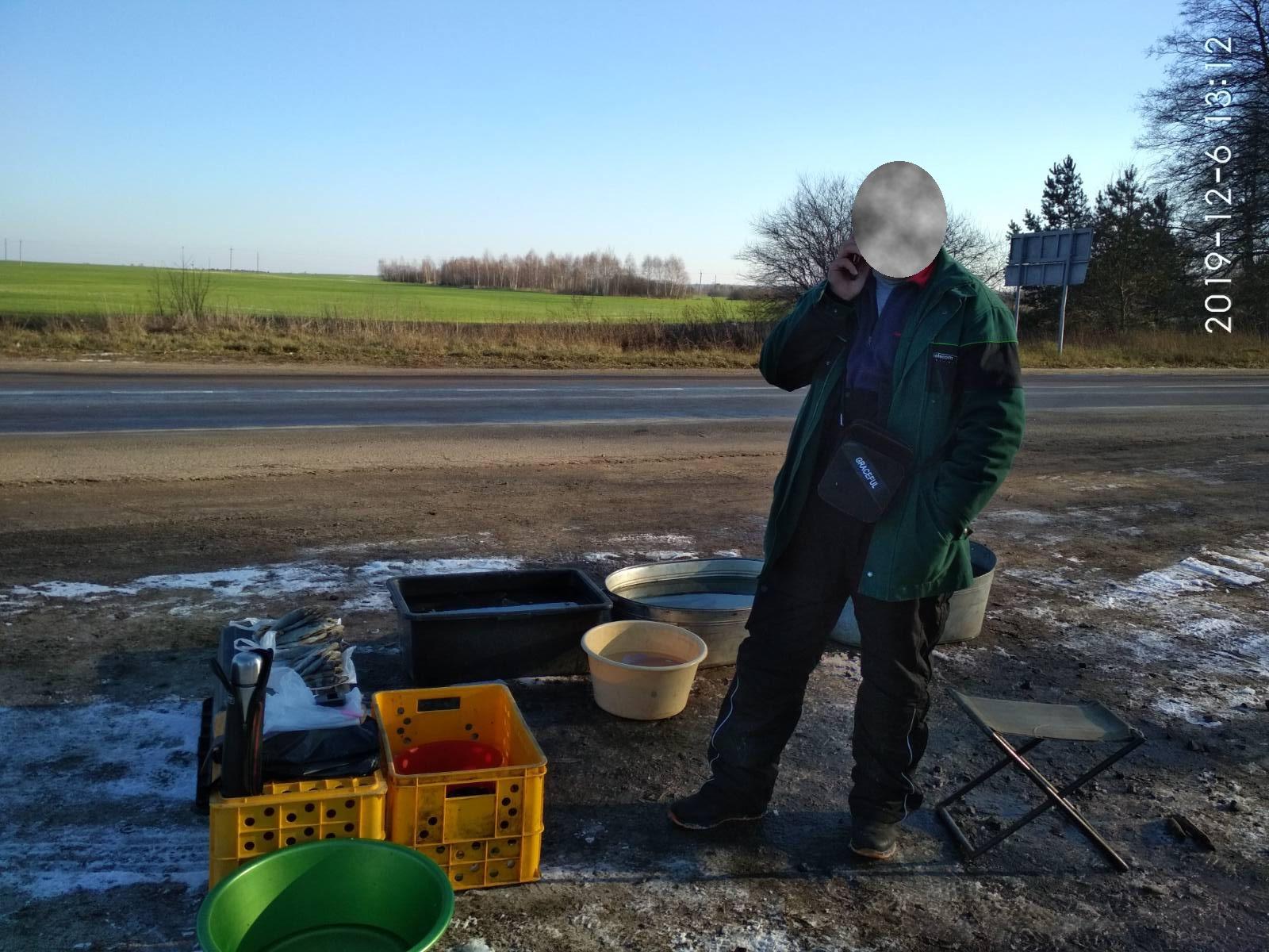 На Волині викрили незаконний збут водних біоресурсів