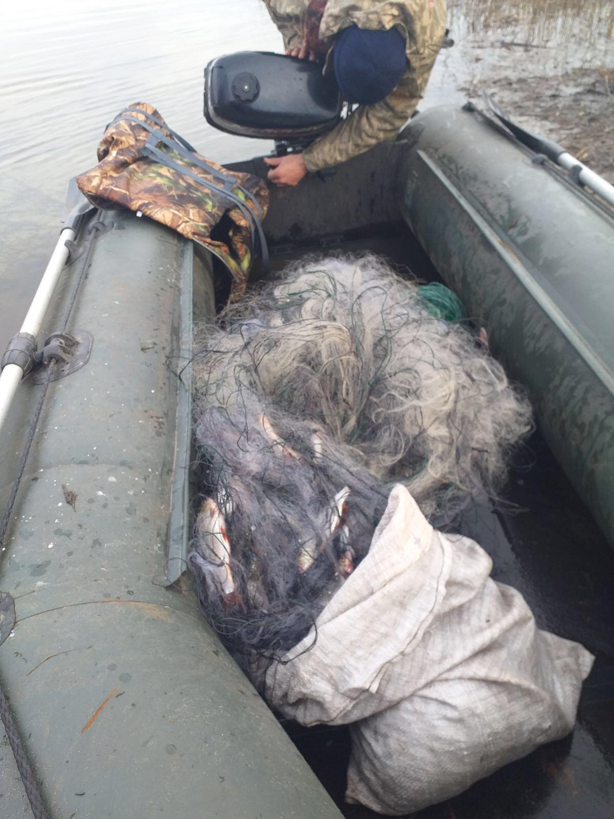 На Волині за тиждень викрили 13 порушень правил рибальства