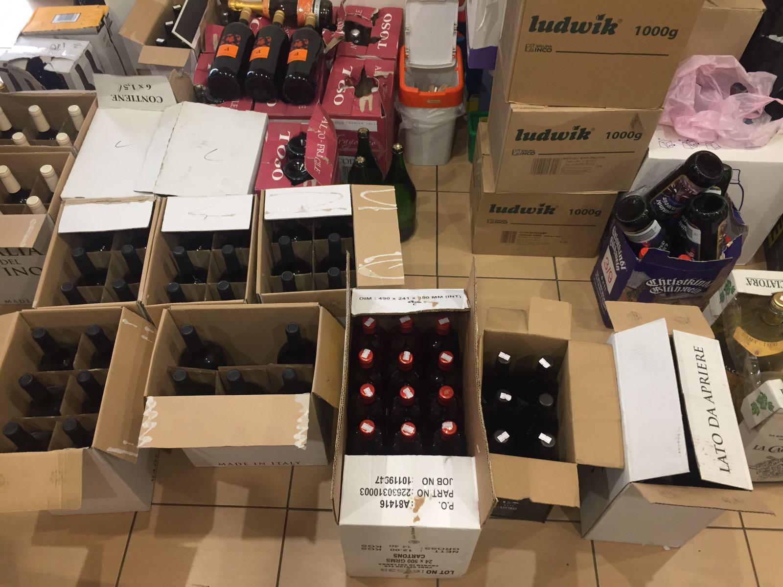 На підприємстві у Луцьку виявили алкоголь ввезений в Україну з порушенням митного законодавства