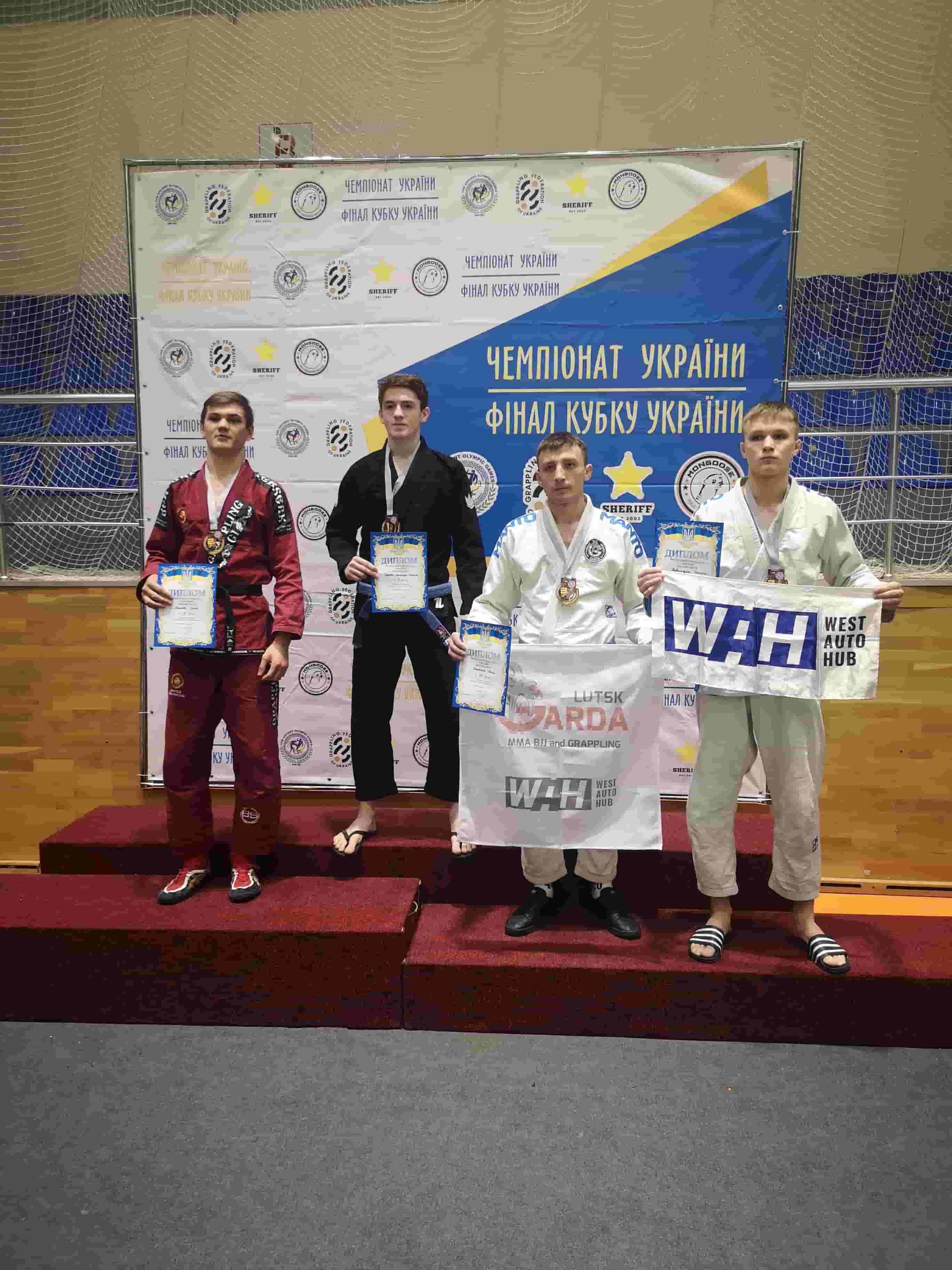Тренери волинського спортивного клубу стали призерами на чемпіонаті України