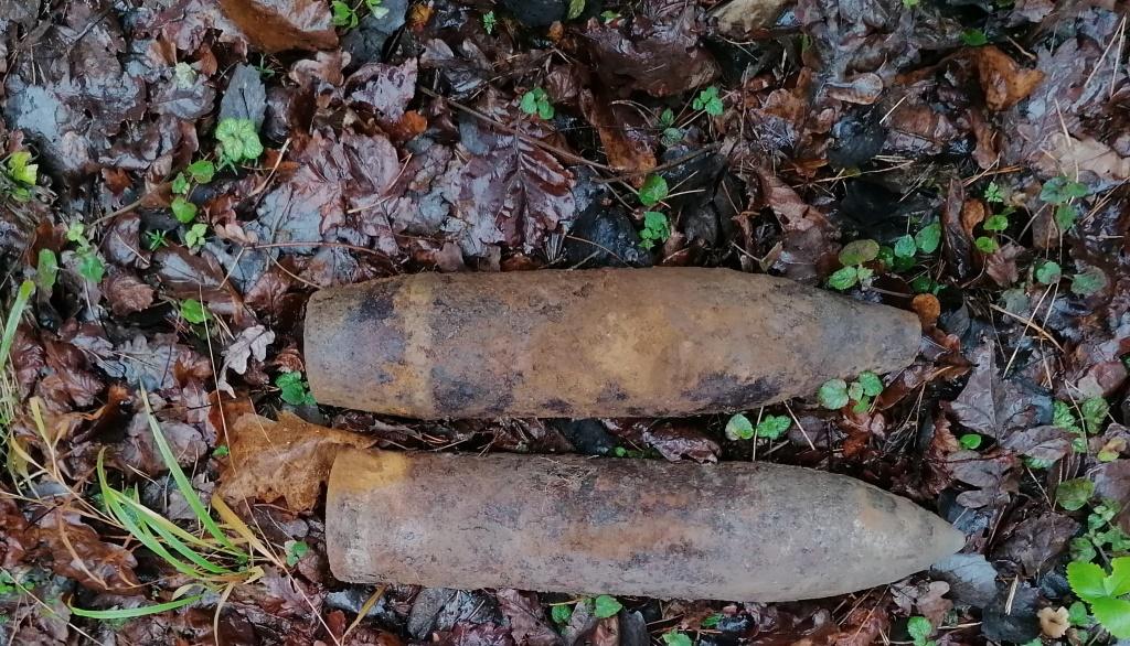 На Волині знешкодили два артилерійські снаряди часів минулої війни