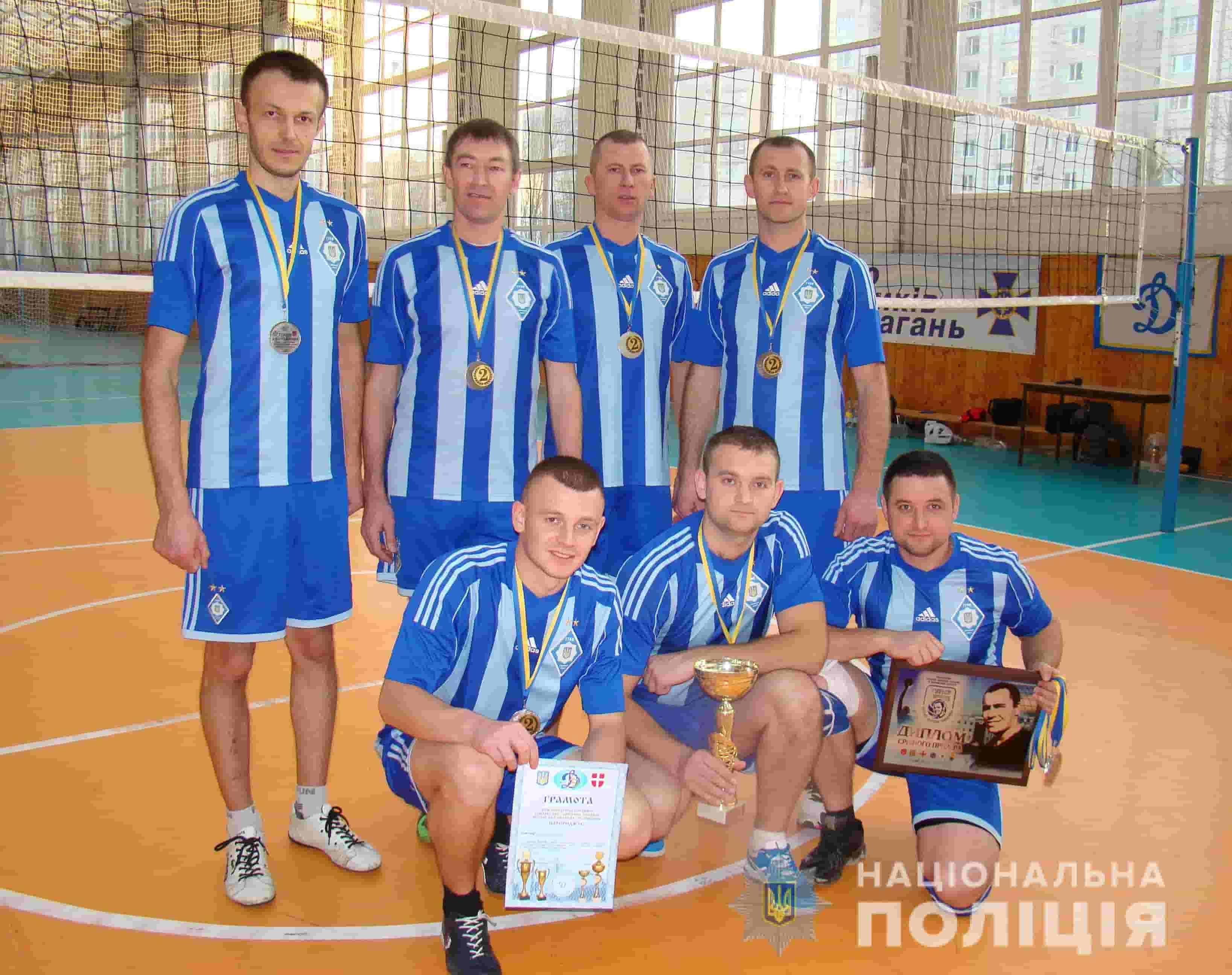 Волинські правоохоронці вибороли призове місце на чемпіонаті з волейболу