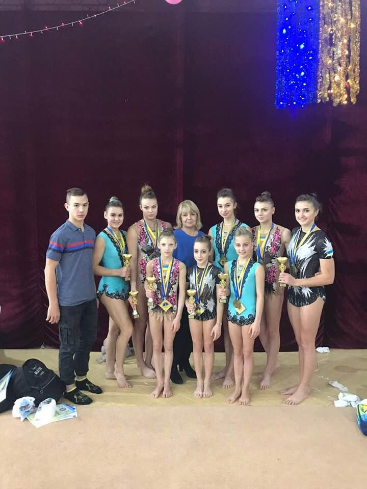 Волиняни вибороли золото на чемпіонаті України зі спортивної акробатики