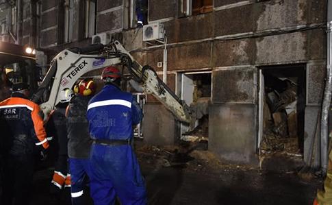 Пожежа в одеському коледжі: поліція встановила перших підозрюваних
