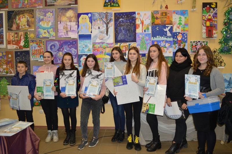 На Волині юні художники представили свої роботи на конкурсі