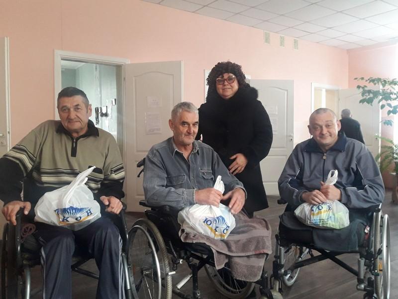 На Волині люди з інвалідністю отримали матеріальну допомогу