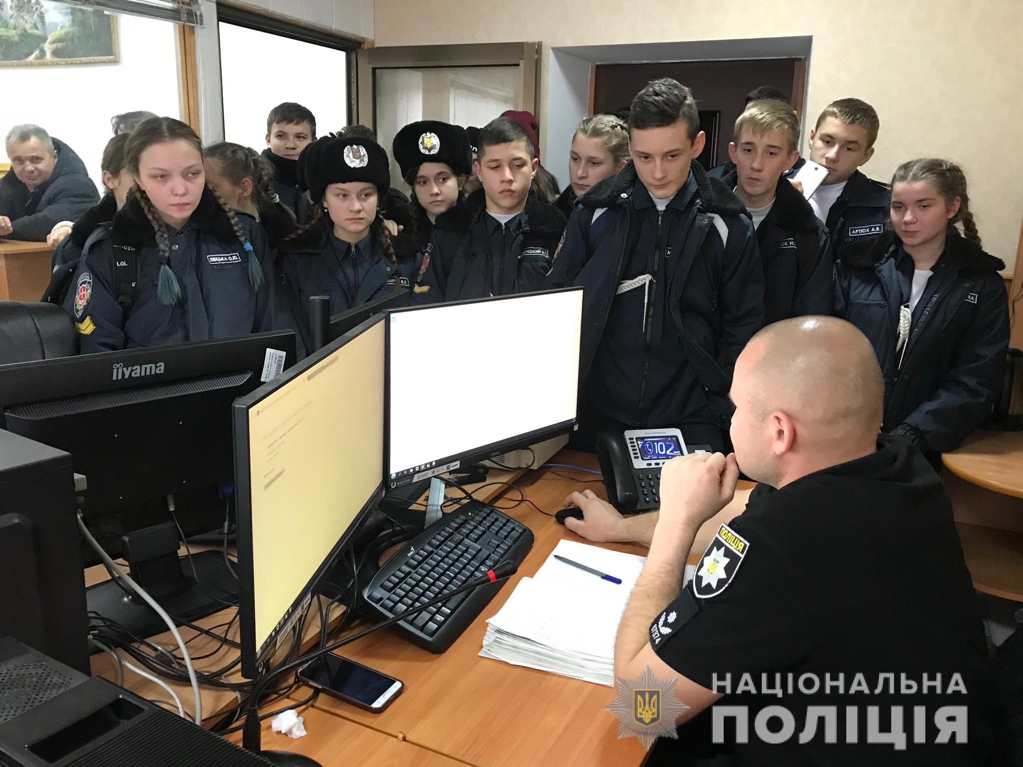 Волинські поліцейські розповіли ліцеїстам про свою професію