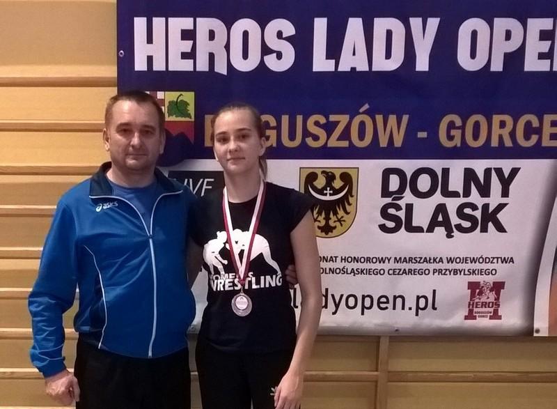 Волинянка здобула срібну медаль на міжнародному турнірі з вільної боротьби