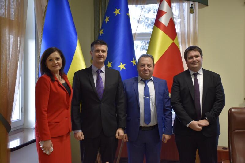 У Луцьк завітав Генеральний консул Чеської Республіки у Львові