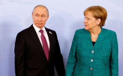 Меркель приїде до Путіна говорити про конфлікти