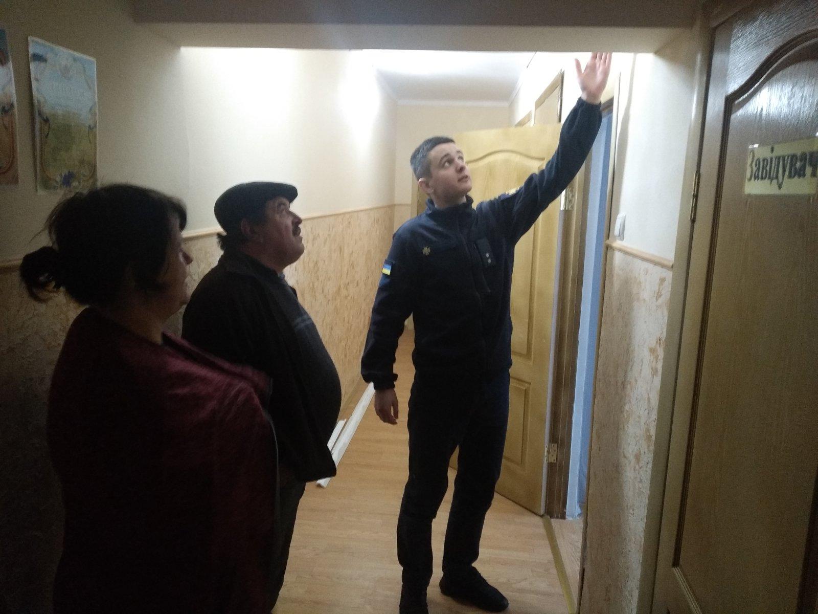 Волинські рятувальники продовжують інспектувати заклади освіти