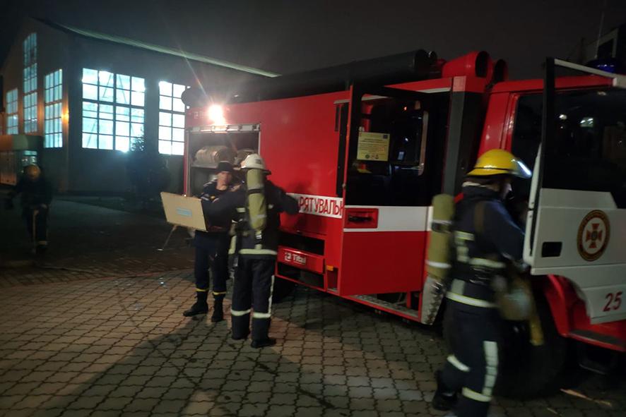 У Луцьку рятувальники провели навчальну евакуацію у Волинському обласному ліцеї