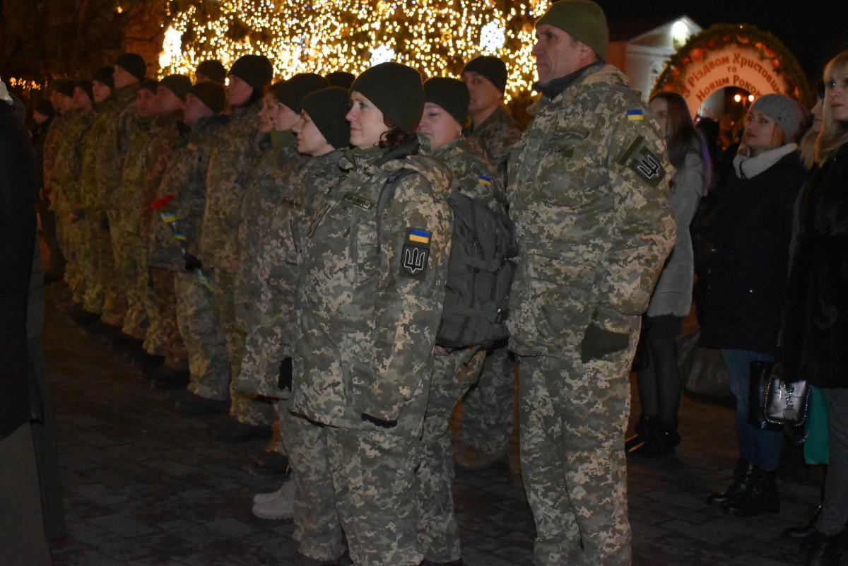 Волиняни вшанували пам'ять загиблих українських військовсолужбовців