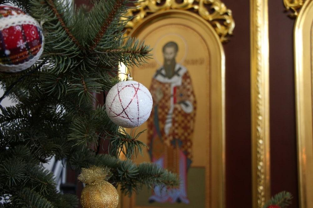 Михаїл привітав ченців із Різдвом Христовим та Новим роком