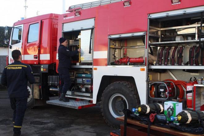 Волинським рятувальникам придбали спецавтомобіль за кошти Держбюджету