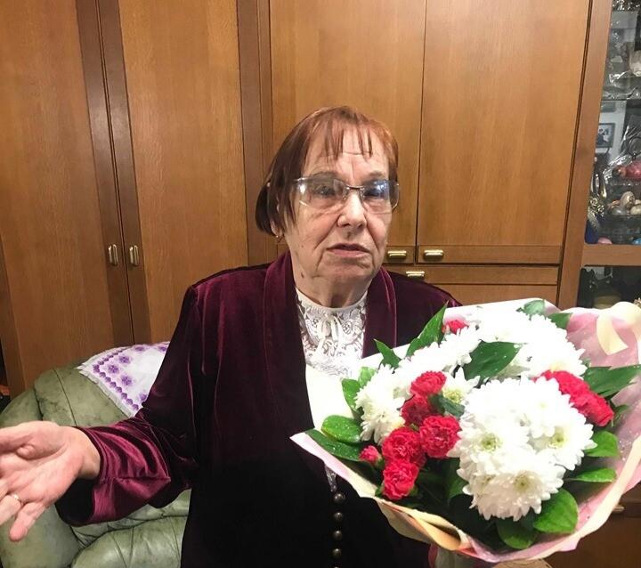 У Луцьку привітали вдову ветерана Другої світової війни