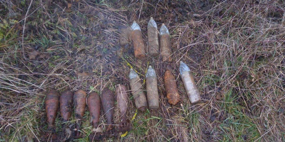 На Волині сапери ДСНС знешкодили 15 боєприпасів часів минулої війни