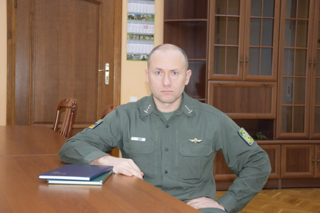 У Луцькому прикордонному загоні призначили нового керівника