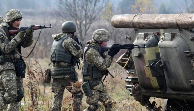 Окупанти обстріляли з гранатометів і кулеметів захисників Новолуганського